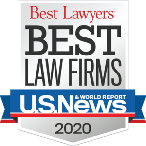 best law firms U.S. News 2020